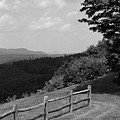 Vermont Countryside 2006 Bw by Frank Romeo
