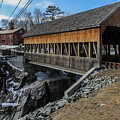 Vermont Covered Bridge by Joe Faragalli