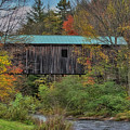 Vermont Rural Autumn Beauty by Deborah Benoit