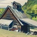 Vermont Sugar House by Edward Hopper