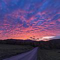 Vermont Sunset by Richard Sandford