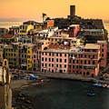 Vernazza At Sunset by Prints of Italy