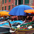 Vernazza Boats by Nadine Rippelmeyer
