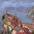 Vernazza-cinque Terre by Guido Borelli