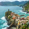 Vernazza, Cinque Terre, Liguria, Italy by JR Photography