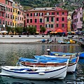 Vernazza Harbor by Frozen in Time Fine Art Photography