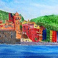 Vernazza Italy by Anne Sands