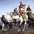 Vernet: Arabs, 1843 by Granger