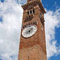 Verona Italy - Beautiful Torre Dei Lamberti by Just Eclectic