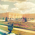 Versailles Gardens And Palace In Shabby Chic Style by Sandra Rugina