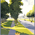 Versailles Travel Poster by Pd