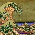 Version Of The Great Wave Off Kanagawa by Marianna Mills
