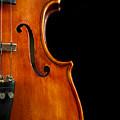 Vertical Violin Art by Iordanis Pallikaras