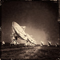 Very Large Array Sepia by Matt Suess