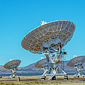 Very Large Array Side View by Patrick Burke