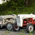 Very Old Ford Tractors by William Tasker