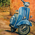 Vespa 2 by Cheryl Pass