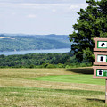 Vesper Hills Golf Club Tully New York 1st Tee Signage by Thomas Woolworth