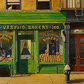 Vesuvio Bakery In New York City by Christopher Oakley