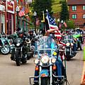 Veteran's Freedom Riders In Cripple Creek by Steve Krull