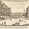Veue Du Luxembourg by Isra?l Silvestre
