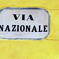 Via Nazionale by Agnes Czekman