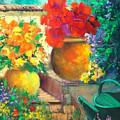 Vibrant Garden by Sally Seago