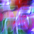 Vibrant Moods Abstract Square by Karen Adams