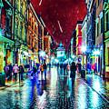 Vibrant Night Life by Ron Fleishman