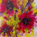 Vibrant Pink Poppies by Irina Rumyantseva