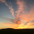Vibrant Sunset by Amy Lionheart