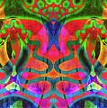 Vibrant Swirls by Jolanta Anna Karolska