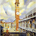 Vicenza Italy Travel Poster by Dp