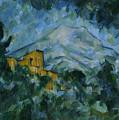 Victoire And Chateau Noir by Paul Cezanne
