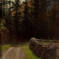 Victor Coleman Anderson  1882  1937 Road By The Woods by Artistic Panda