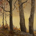 Victor Coleman Anderson 1882  1937 Wet Leaves by Artistic Panda