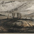 Victor Hugo   Gallows Of Montfaucon   1847 by Artistic Panda