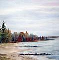 Victoria Beach In Manitoba by Joanne Smoley