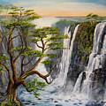 Victoria Falls Zimbabwe  by Wayne Enslow