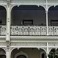 Victoria Street Balcony by Steven Richman