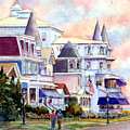 Victorian Cape May New Jersey by Pamela Parsons