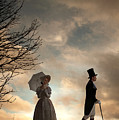 Victorian Couple Parting  by Lee Avison