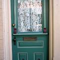 Victorian Door by Barbara Oberholtzer