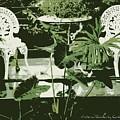 Victorian Garden Poster by Carol Groenen