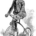 Victorian Gentleman Cycling by Neil Baylis