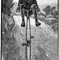 Victorian Gentleman On A Penny-farthing by Neil Baylis