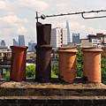 Victorian London Chimney Pots by Rona Black