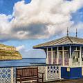 Victorian Pier In Llandudno by M S McKenzie