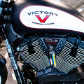 Victory Bike Red by Rospotte Photography