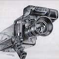 Video Camera, Vintage by Dale Turner